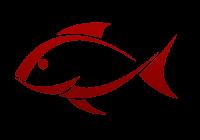 Peixe icon vermelho